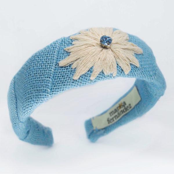 diadema flora azul1